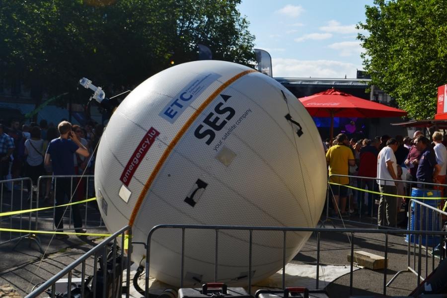 Ballon satellitaire Emergency.lu