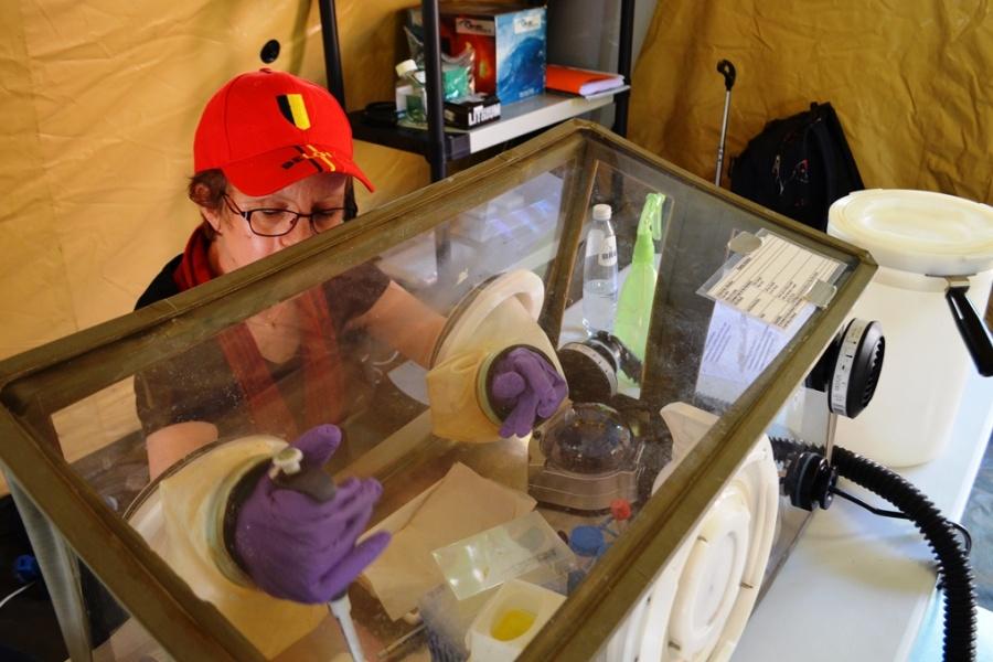 Laboratoire B-LiFE de lutte contre Ebola