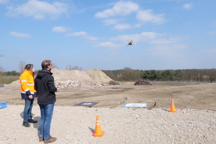 Vol du drone © Geert Biermans