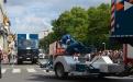 Container zur Unterstützung mit Superkanone des Zivilschutzes