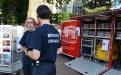 Hilfeleistungszone Flämische Ardennen am Sablon/Zavel am 21. Juli