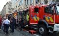 Vertreter der Hilfeleistungszone Luxemburg erläutern ihre neuen Fahrzeuge