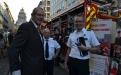Besuch des Generaldirektors der Zivilen Sicherheit Jérôme Glorie im Sicherheitsd